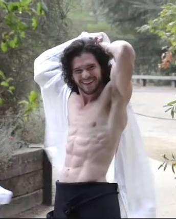 Resultado de imagem para kit harington naked