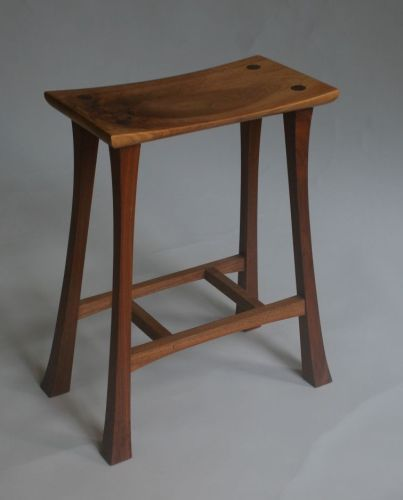 Router stool Projects for Beginners | Furniture Making Course for angled joinery and routing techniques.
