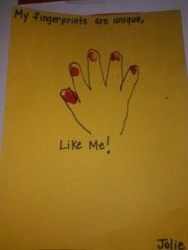 all about me craft ideas weekly themes all about me fingerprint pre k class 5835