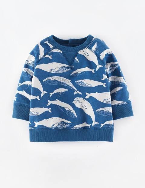 Cosy Printed Sweatshirt 71423 Sweatshirts at Boden