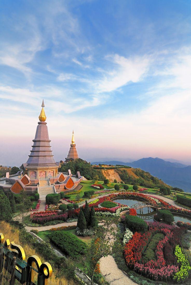 Doi Inthanon Parque Nacional, Chiang Mai Provincia, Tailandia