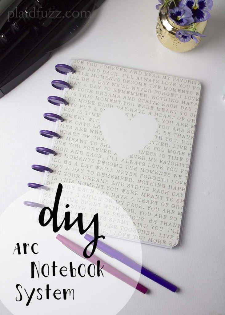 Arc Customizable Notebook System DIY