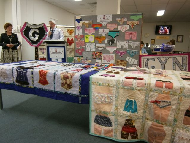 King Edward Memorial Hospital for women International GYN Awareness Day 10/9/14 underpants staff competition