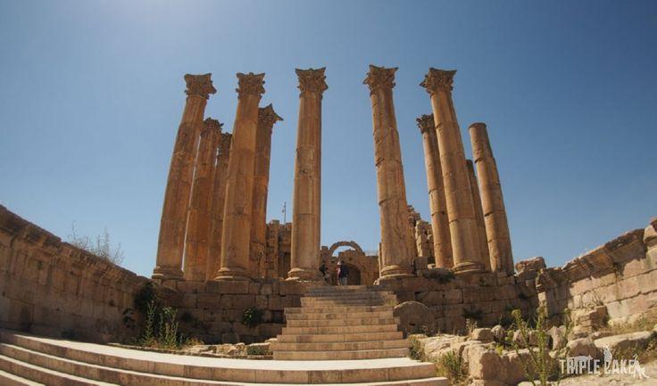 Jerash - The Temple of Artemis