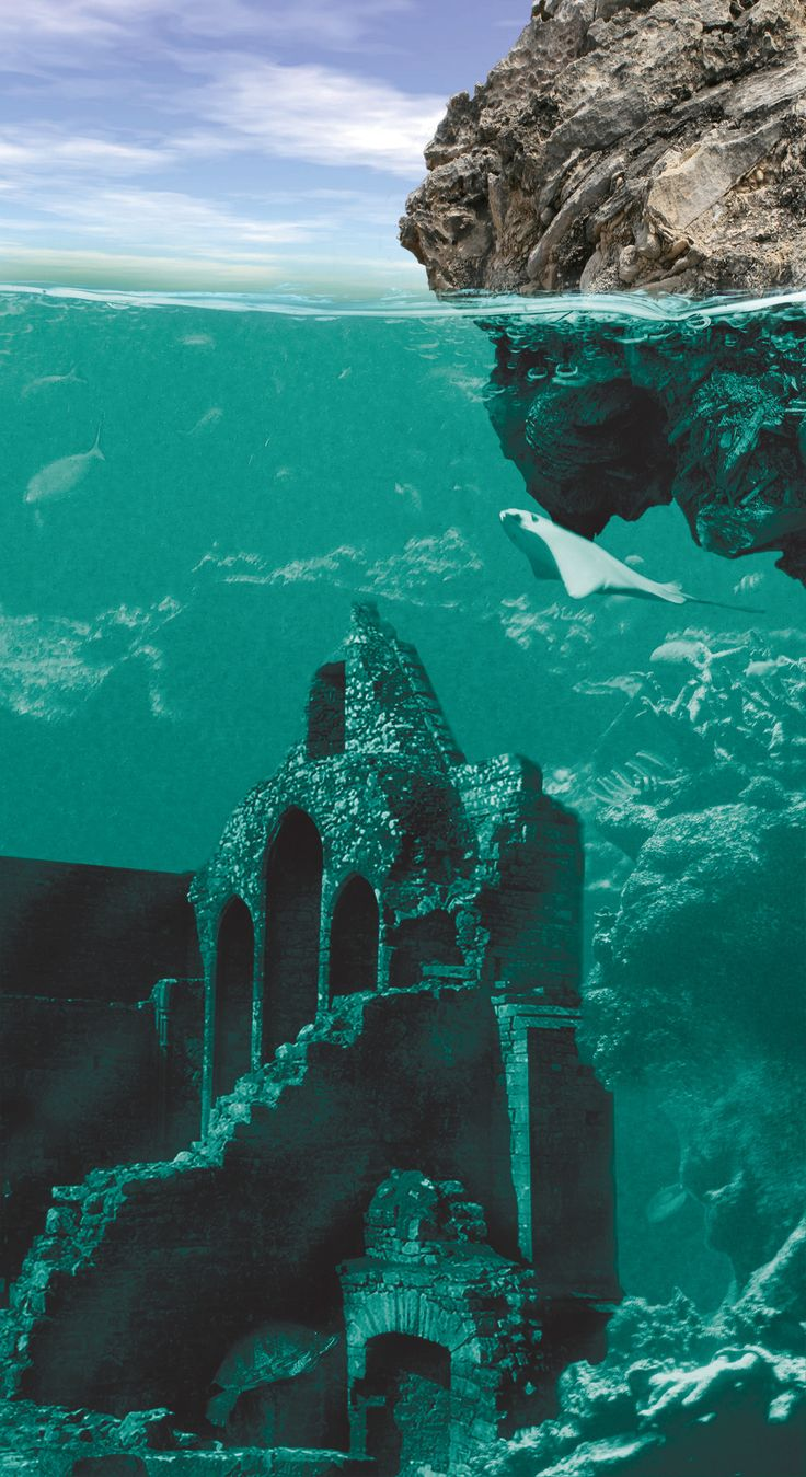 Lost City of Atlantis. I would love to see this first hand!