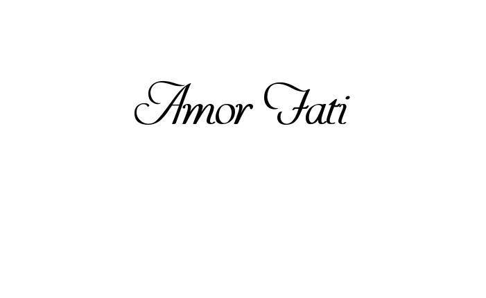 The 25 best amor fati tattoo ideas on pinterest let go for Amor fati tattoo