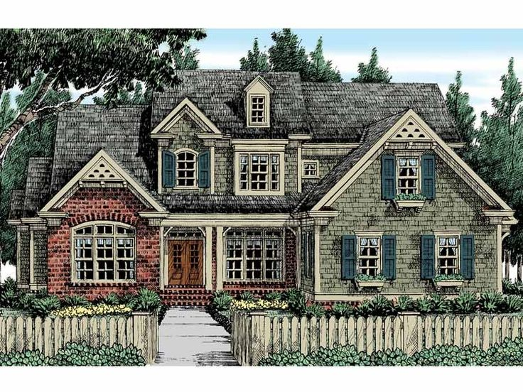 Country house plan with 3135 square feet and 5 bedrooms s for Home source com