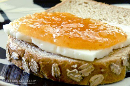 Peach, Mango & Vanilla Jam : Cafe Fernando – Food Blog - jam - mango - marmalade - peach - vanilla - Breakfast and Brunch
