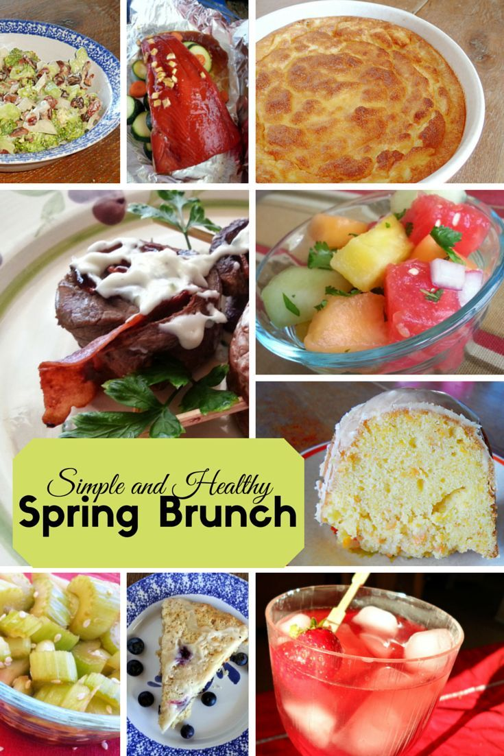 Healthy Spring Brunch Ideas For Mothers Day Or Easter Food Sweet
