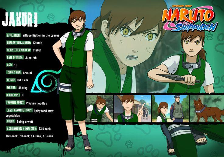 naruto characters profiles | Naruto profile - Jakuri Hitori by Hitaru-fan