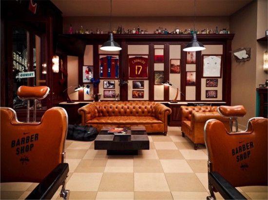 le nike barbershop dbarque paris spanky few culture innovation - Barber Shop Design Ideas