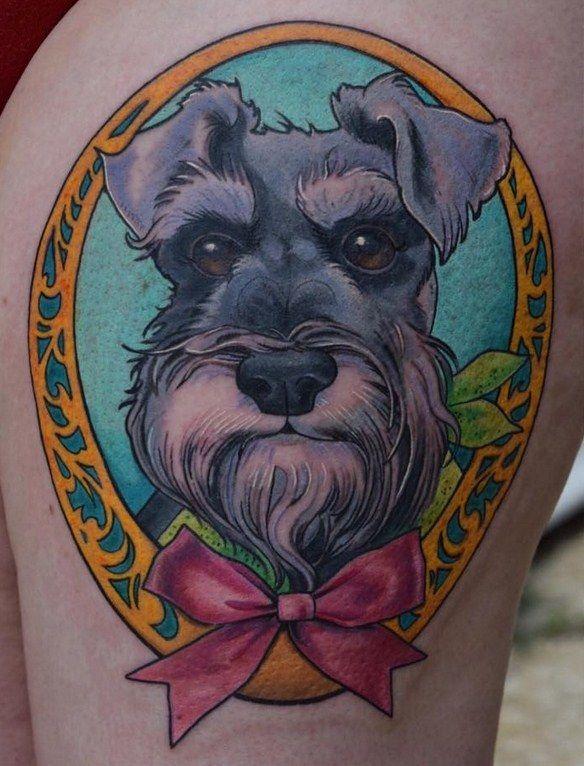 246 best dogs tattoos images on pinterest. Black Bedroom Furniture Sets. Home Design Ideas
