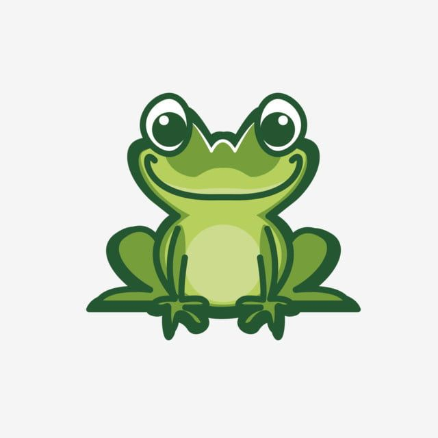 Frog Vector Illustration Design Frog Clipart Ai Vector Png And Vector With Transparent Background For Free Download Vector Illustration Design Illustration Design Frog Illustration