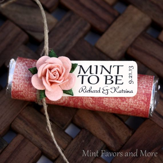 Hey, I found this really awesome Etsy listing at https://www.etsy.com/listing/164471571/mint-wedding-favor-with-personalized