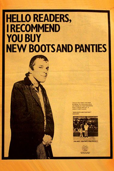 29 best ian dury the blockheads images on pinterest music ian dury new boots and panties vintage music ad solutioingenieria Image collections