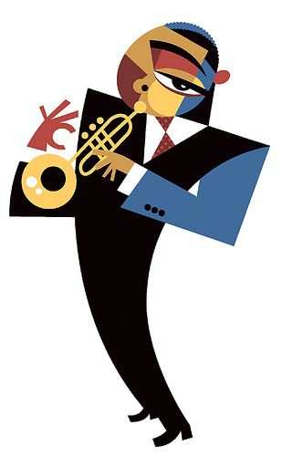 Wynton Marsalis by Pablo Lobato. #music #artwork #jazz http://www.pinterest.com/TheHitman14/musician-drawn-%2B/