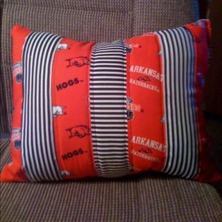 Razorback Pillow