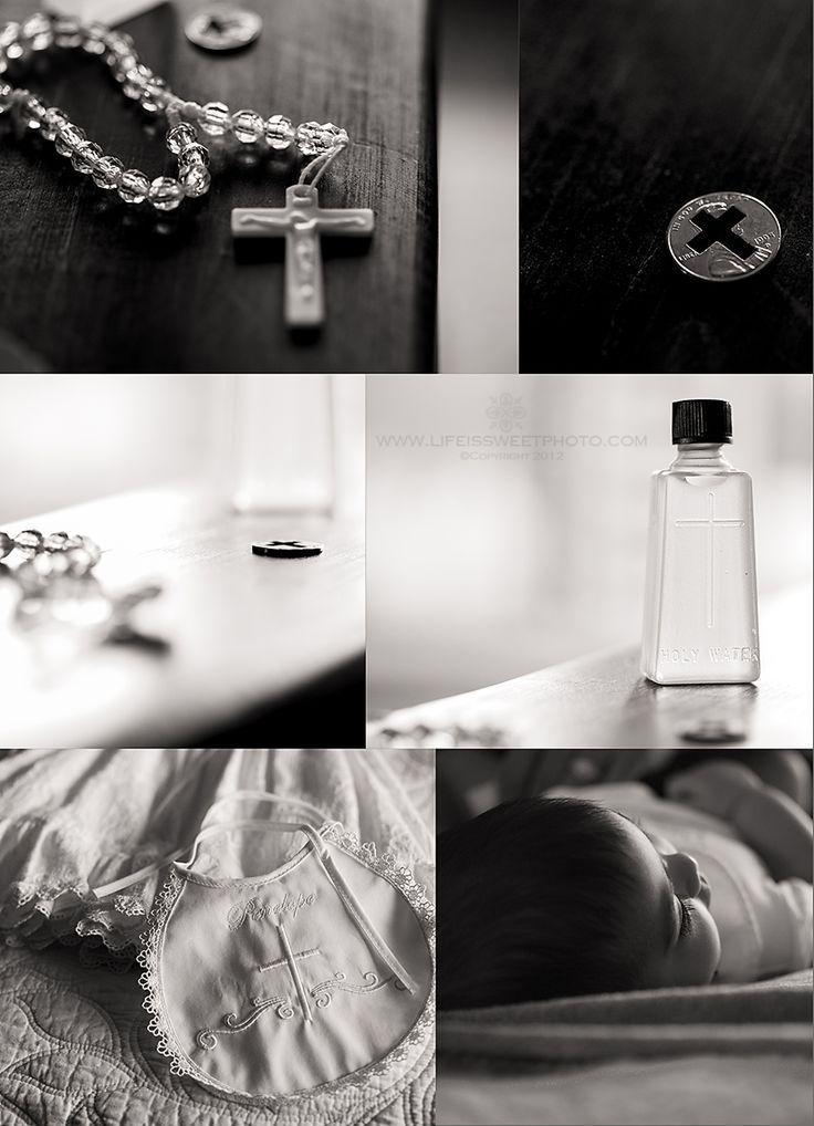 Eine Taufe planen? Hier einige Inspirationen für die Fotografie.