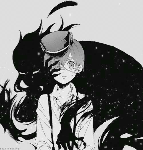 Ciel Phantomhive & demon Sebastian (Kuroshitsuji/Black Butler)