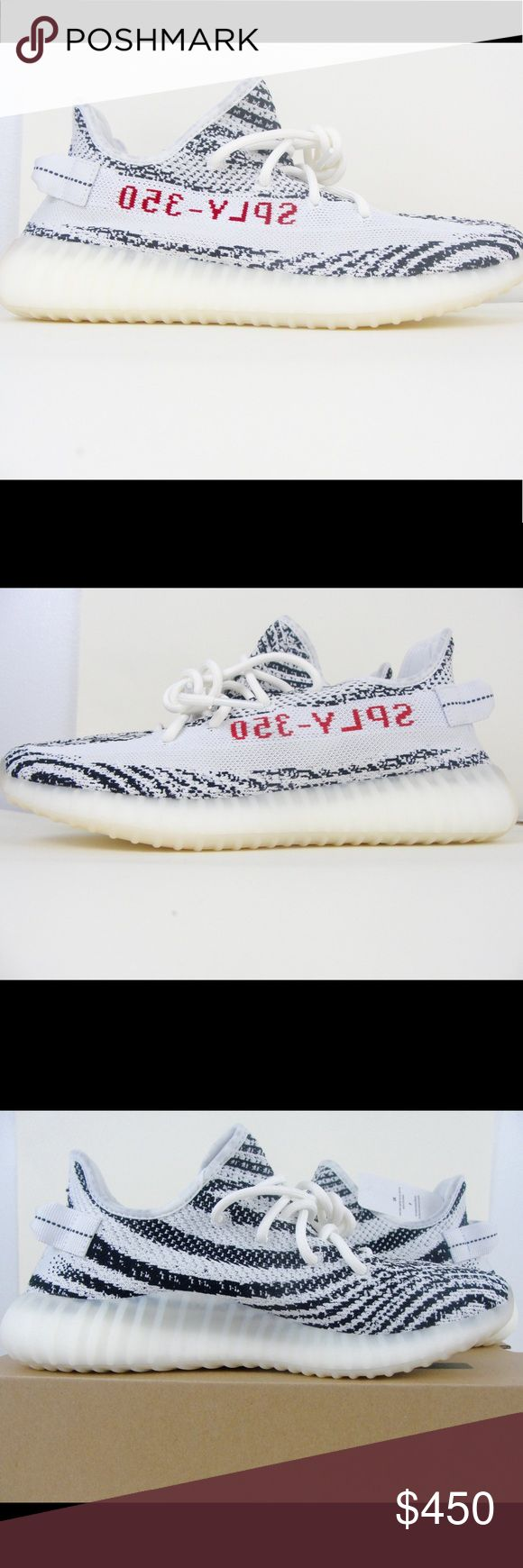 Adidas Yeezy Boost 350 V2 Zebra size 9 Brand new in box purchased directly from footlocker, size 9. Need to sell asap. Will ship for free, PayPal, venmo, accepted forms of payment. Make an offer, thanks Yeezy Shoes Sneakers