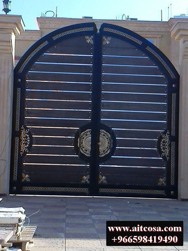 Pin By Aitco On ابواب خارجية Gate Design Gate Garden Gates