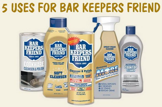 5 Uses For Bar Keepers Friend Multi Purpose Cleaner