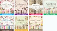 24 pz/lotto più disegno per la scelta collection 12 pollici del mestiere di carta fatti a mano fai da te album di foto album