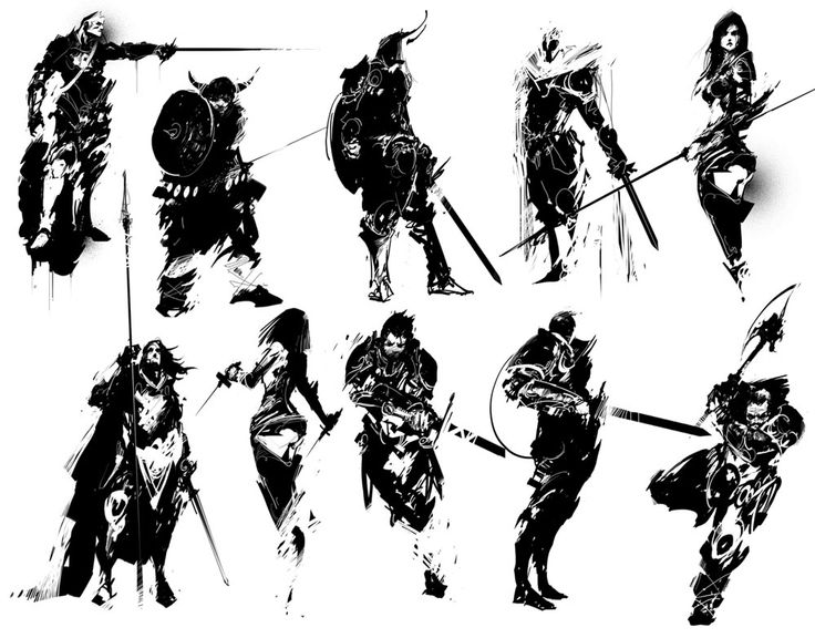 Silhouette Thumbnailing ★ || Please support the artists and studios featured here by buying this and other artworks in their official online stores • Find us on www.facebook.com/CharacterDesignReferences | www.pinterest.com/characterdesigh | www.characterdesignreferences.tumblr.com |  www.youtube.com/user/CharacterDesignTV and learn more about #concept #art #animation #anime #comics || ★