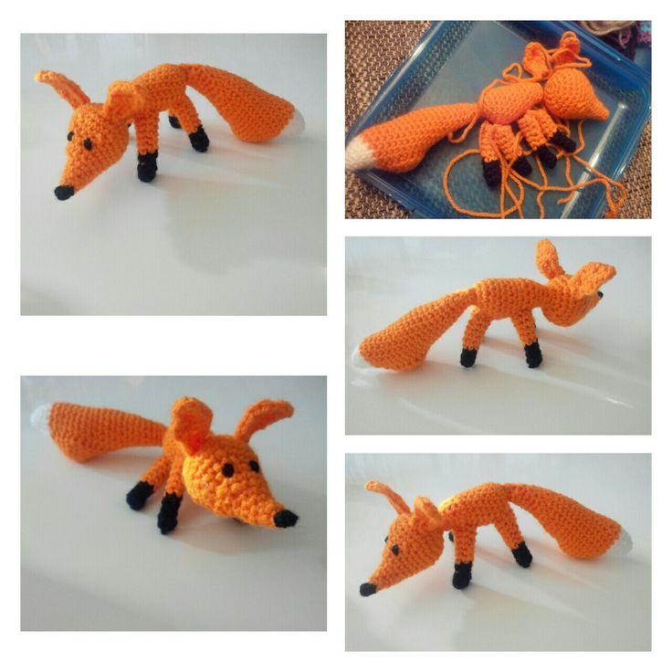 Bernard le renard - Doudou au crochet