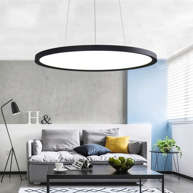 Modern creative simple modern high power LED chandelier living room bedroom dedicated slim panel lamp disc chandelier. Yesterday's price: US $199.00 (164.47 EUR). Today's price: US $121.39 (99.94 EUR). Discount: 39%.
