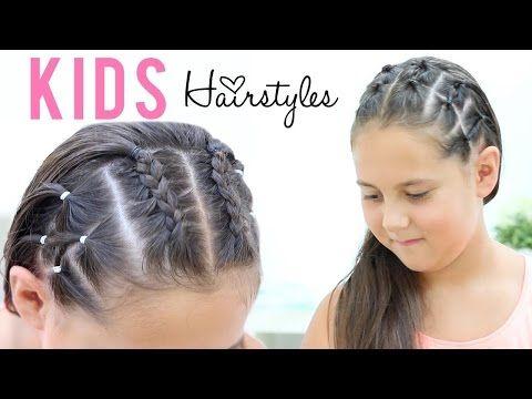 Peinados para niña paso a paso | Peinados de diadema - YouTube