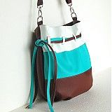 Veľké tašky - Sunny - Hnedo-tyrkysová - 2346172