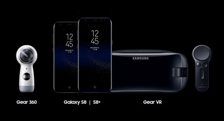Samsung Galaxy S8 and S8+ with Infinity Display & Iris Scanner. Pair it with Gear 360 to capture the world & Gear VR to be a part of another world.
