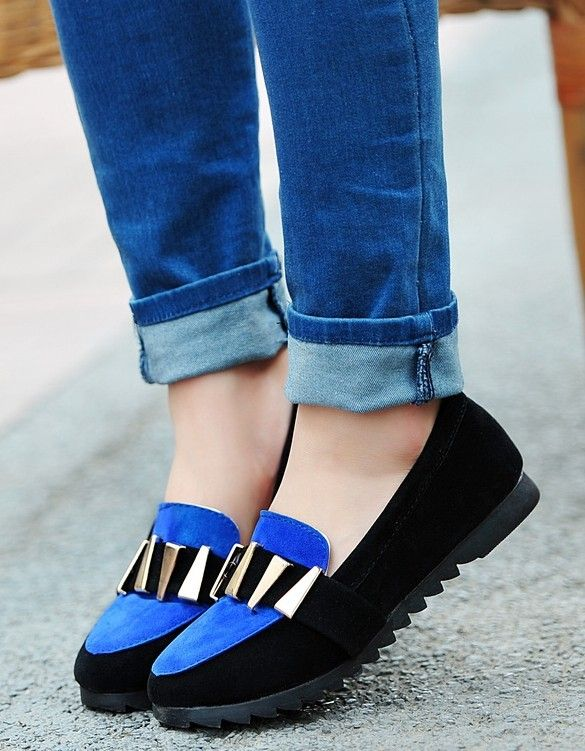 ENMAYER 2014 new fashion casual round with flat sequins flat shoes, casual flat shoes with a single $48.96