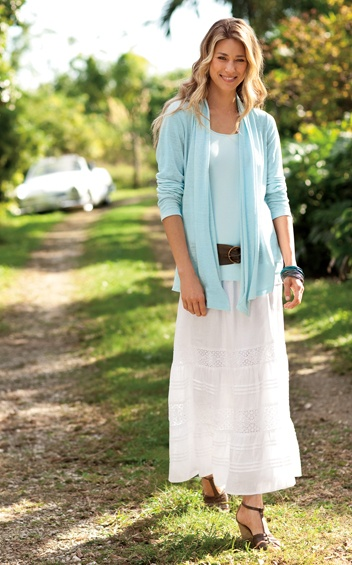 New for Spring from J. Jill: I like the ease of this look!