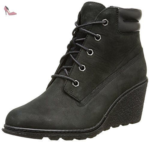 Timberland Amston Ftw_amston 6in, Bottes Classiques Femme - Noir (black), 39.5 EU - Chaussures timberland (*Partner-Link)