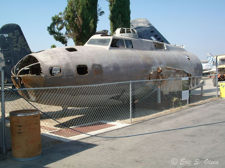 B-17E 41-2446 ''Swamp Ghost'' at Planes of Fame in October of 2011.