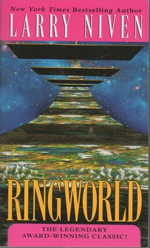 Classic science fiction.  I remember reading this in high school and wishing I could see the actual Ringworld.  This would be a great movie opportunity.  A lot of speculation about a movie being made, but it has never happened.