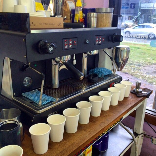 $3 coffee at the Byron baby shop in Byron bay. Made by two baristas working with coffee for over 10 years. Even this little legend said the price is unreal. #crema #barista #coffee #cafe #grind #aroma #qualitycoffee #writersfestival #evolutionconcierge #ilovebyronbay #ilovecoffee #surfkids #hotchocolate #lovebyronbay #mocha #piccalo #macchiato #espresso #cheapcoffee #bestcoffee #byronbay #byronbabyshop #tea #brew @byronbabyshop www.byronbabyshop.com.au 2/1centennial circuit Byron bay