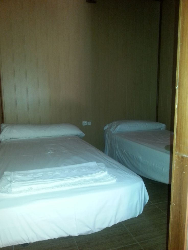 Dormitorio doble de bungalows.