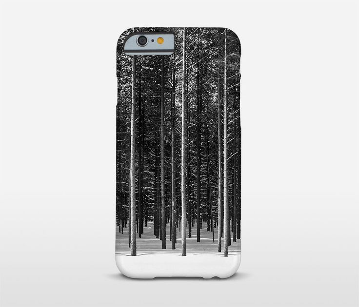 Forest Phone Case, Black And White, Google Pixel Case, iPhone Cases, Samsung Galaxy and more... by Macrografiks on Etsy