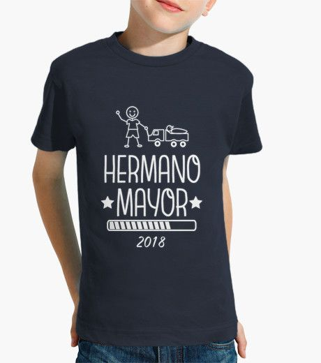 Camiseta Hermano Mayor 2018 marino