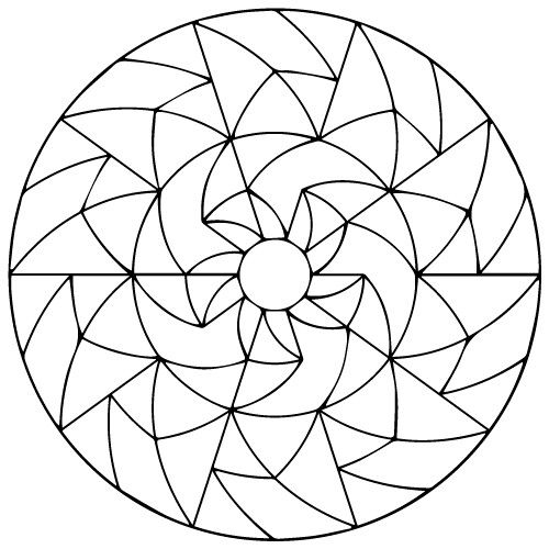 geometric mandala mandala coloring pages adult coloring coloring books colouring art therapy meditation coloring mandalas - Coloring Books For Seniors