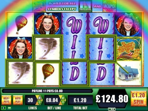 WMS gaming online slot - The Wizard of Oz slot.  You can find hundreds of Big Win pictures and more videos here: http://www.bigwinpictures.com