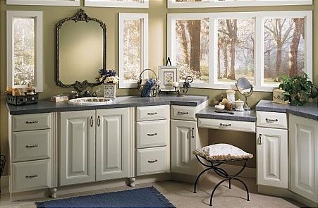 22 best images about bathroom design mid range on for Mid range kitchen cabinets