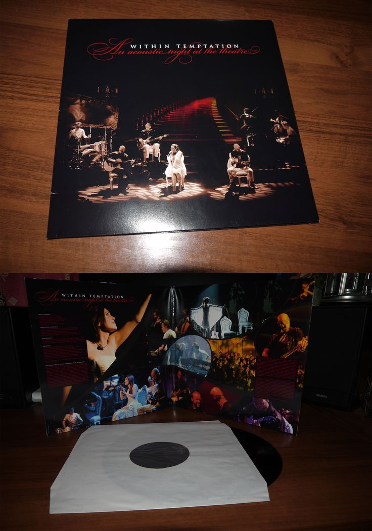 Within Temptation - An Acoustic Night at the Theatre ( LP, Germany) 2009