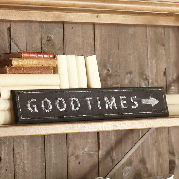 Birch Lane Good Times Plaque