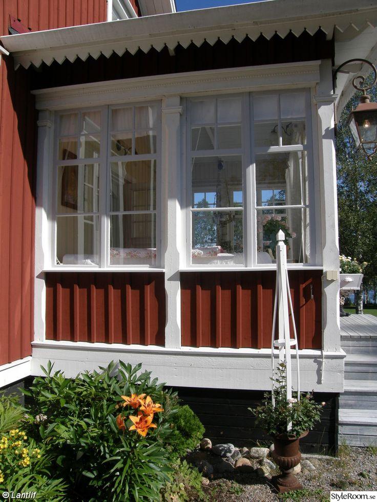 134 Best Glasveranda Farstukvist Snickargl Dje Images On Pinterest Sweden House Exterior