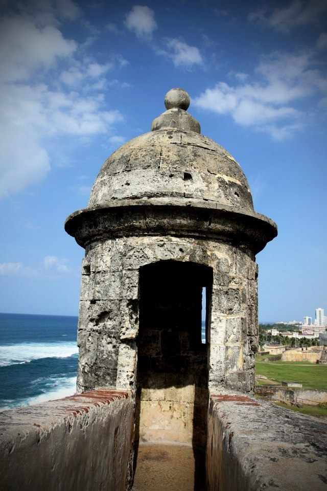 Old San Juan, Puerto Rico.- had my picture taken in there!