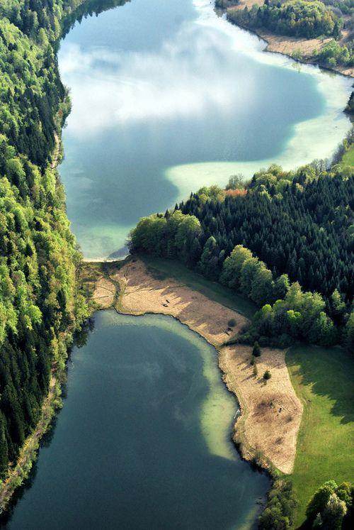 Maclu Lake, Jura | France (by ValKtl)
